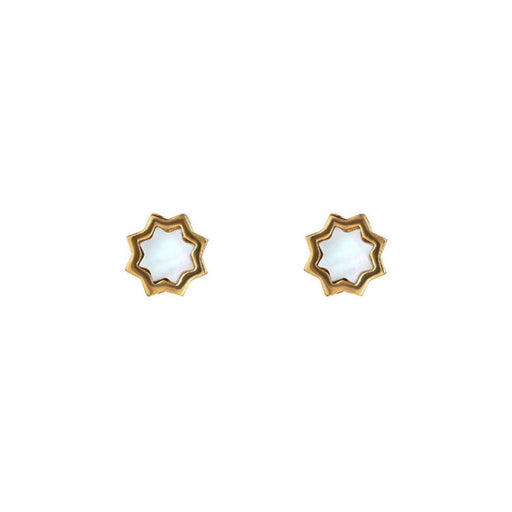 Kismet Stud 14K Mother of Pearl