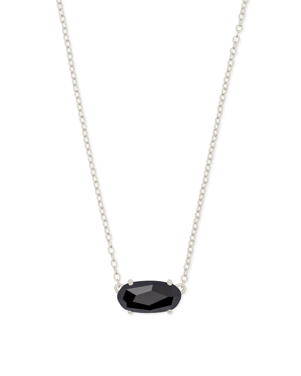 Ever Necklace Rhod Black