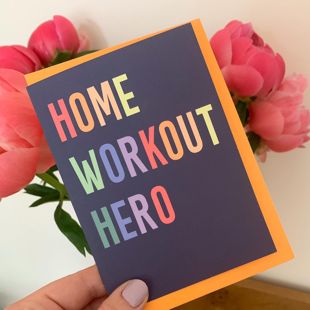 Home workout heroes!