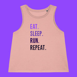 Eat Sleep Run Repeat Vest