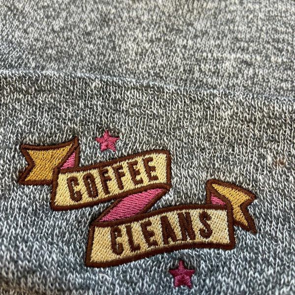 Coffee and Cleans Beanie Hat