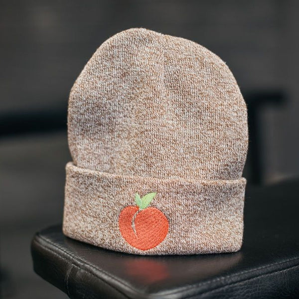 Gym Beanie Hat - Peachy