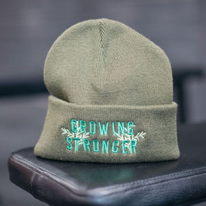 Growing Stronger Beanie Hat