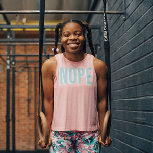 'NOPE' Women's Training Vest Top