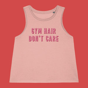 Gym Hair Don't Care Workout Vest
