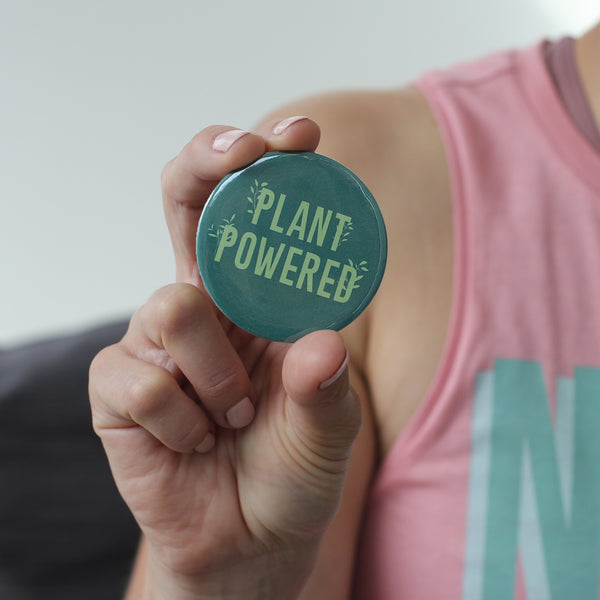 Plant Powered Compact Mirror