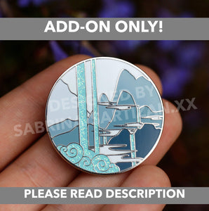 [LEFTOVER P4P - ADD ON] MDZS Scenery Cloud Recesses Hard Enamel Pins
