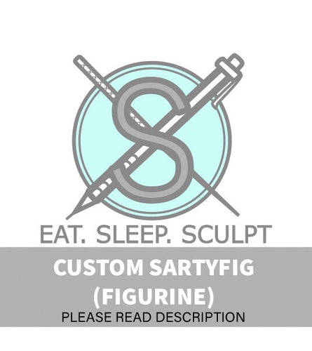 [COMMISSIONS CLOSED] Custom Request Figurine/Sartyfig Listing