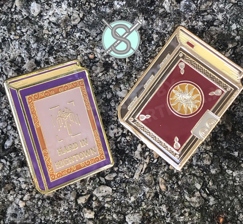 Sartizan Dragon Age Inspired Soft Enamel Book Pins