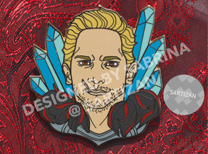 Sartizan Cullen Rutherford Dragon Age Inquisition Hard Enamel Pin
