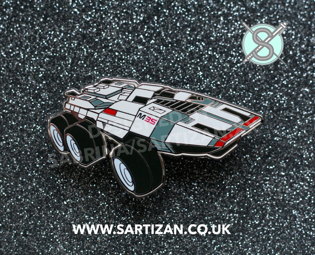 Sartizan Mass Effect Hard Enamel Mako Pin