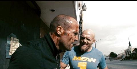 Keith Jardine and Jason Statham in Crank