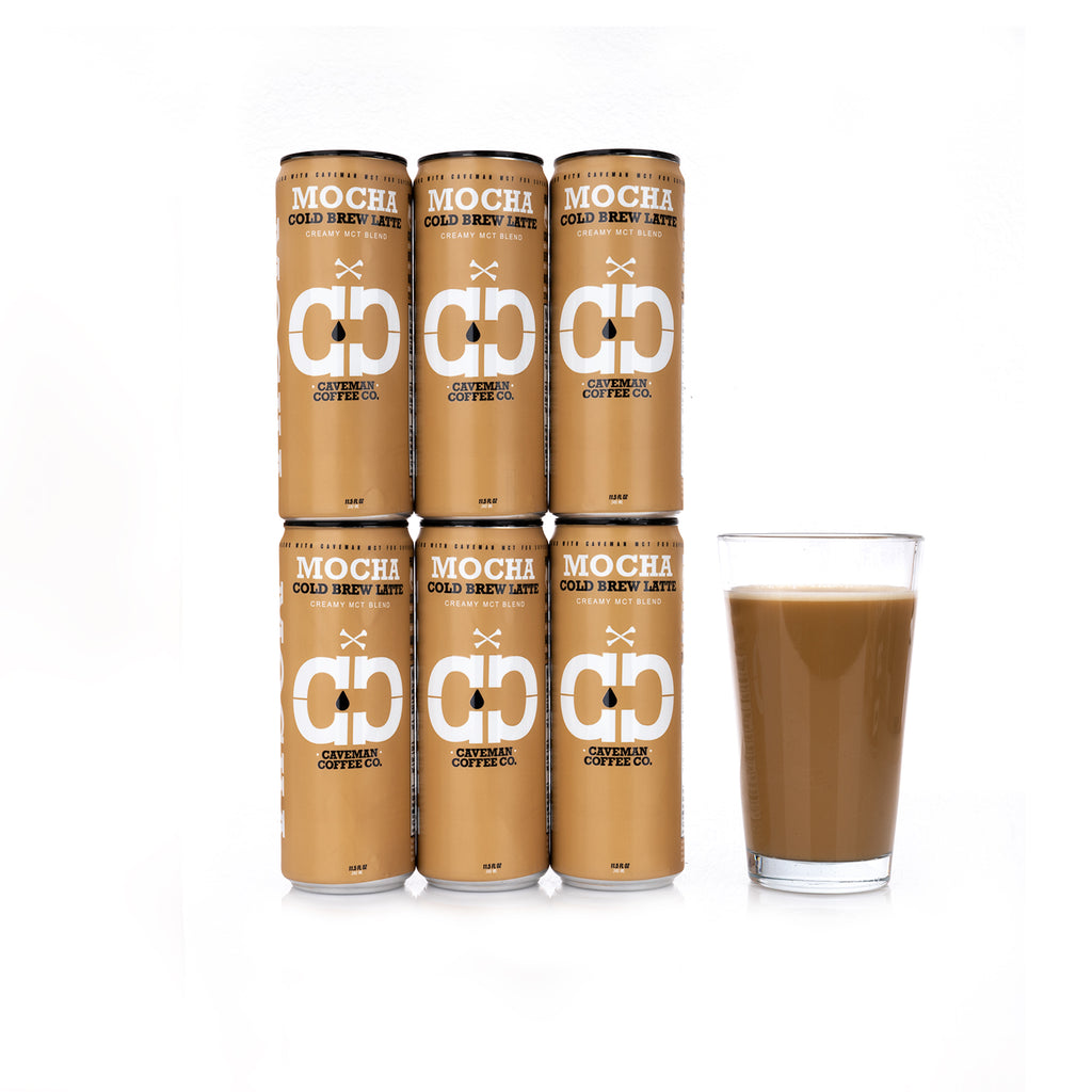 Mocha Cold Brew Latte - 12 Pack