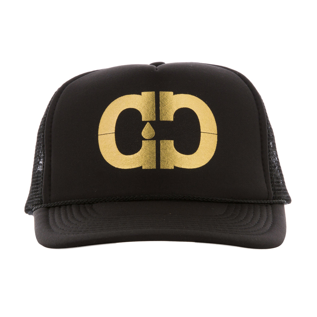 Gold CC Trucker Hat