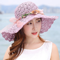 net-flower-bow-sun-hats-violet-color