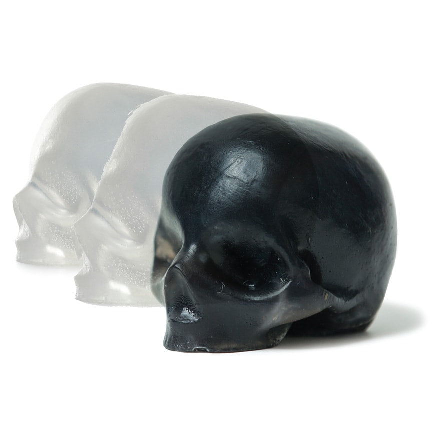 charcoal & glycerin skull soaps [3 pack]
