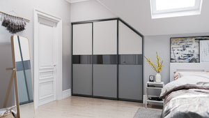Oderno Wardrobes, Fitted Wardrobes, Sliding Wardrobes, Dust Grey Wardrobes
