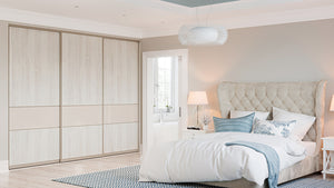 Oderno Wardrobes, Fitted Wardrobes, Sliding Wardrobes, Stone Grey Wardrobes