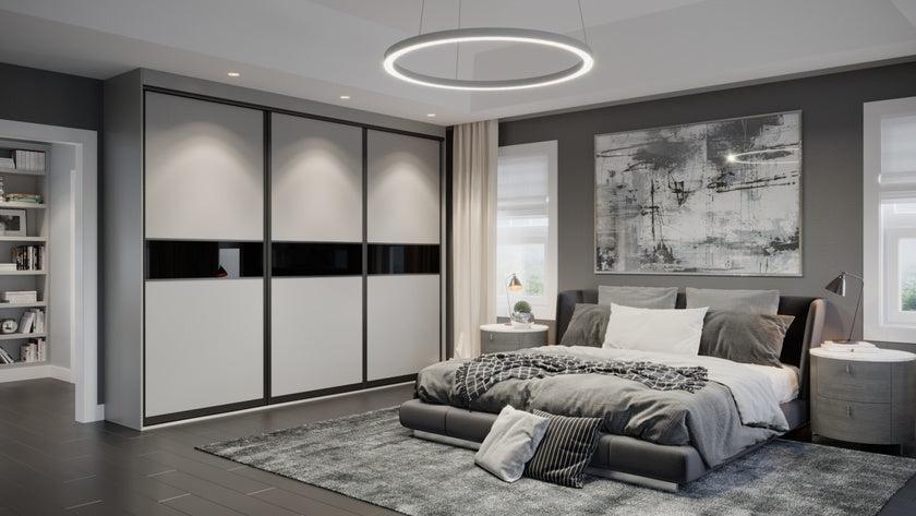 Oderno Wardrobes, Fitted Wardrobes, Sliding Wardrobes, Black Wardrobes