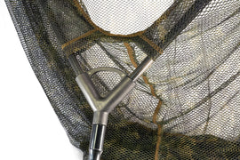 Forge Carp Fishing Tackle Equipment Cr Carbon Landing Net Camo Mesh