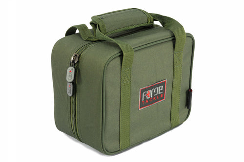 Forge Carp Fishing Tackle Hookbait Bag Insulated 12 compartments