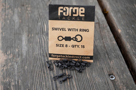 Forge Swivel With Ring - Size 8