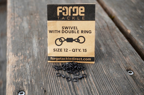 Forge Swivel With Double Ring - Size 12