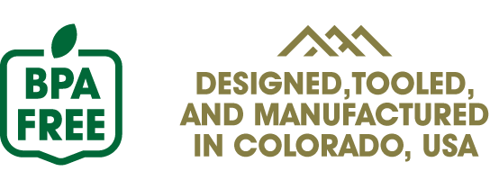 JOEE is 100% BPA-Free and Designed, Tooled, and Manufactured in Colorado, USA