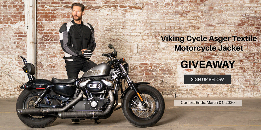 Viking Cycle Asger Textile Jacket for Men Giveaway