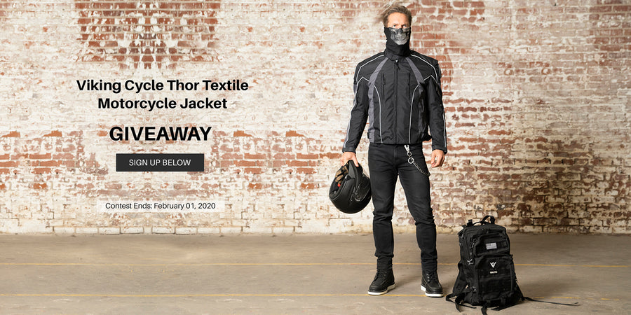 Viking Cycle Thor Textile Jacket for Men Giveaway