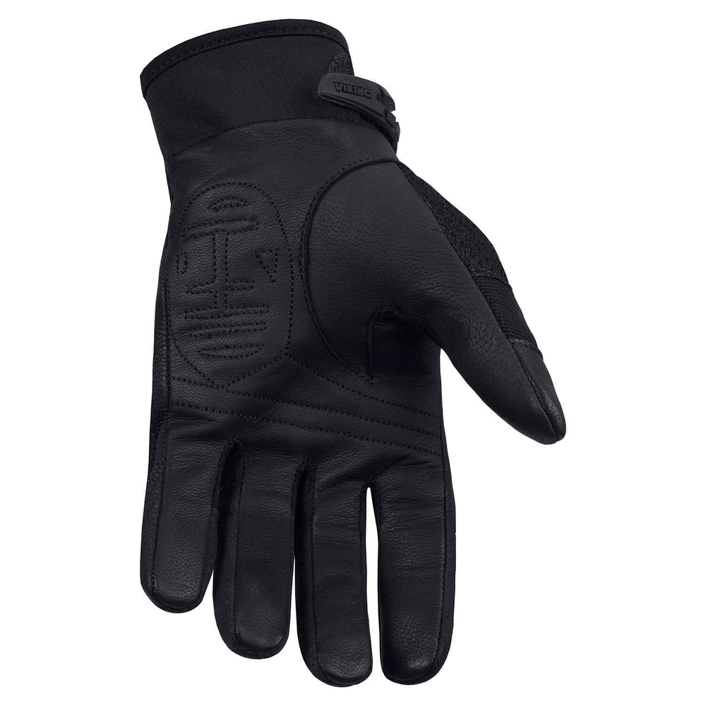 Viking Cycle Crossbreed Riding Leather/Textile Motorcycle Gloves for Women