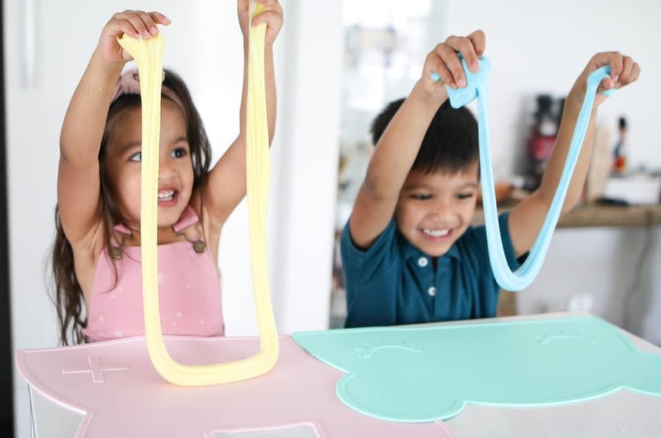 how to make slime at home with kids