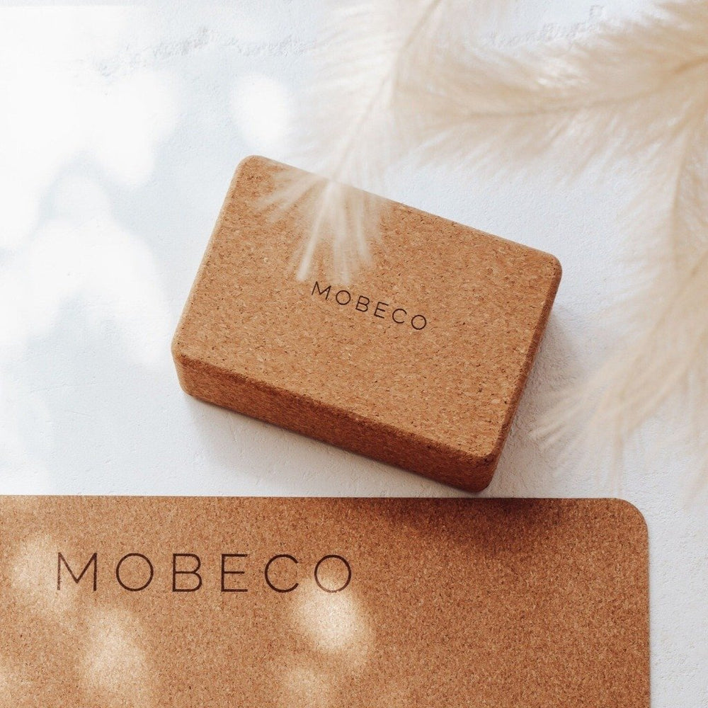 yoga block cork mobeco