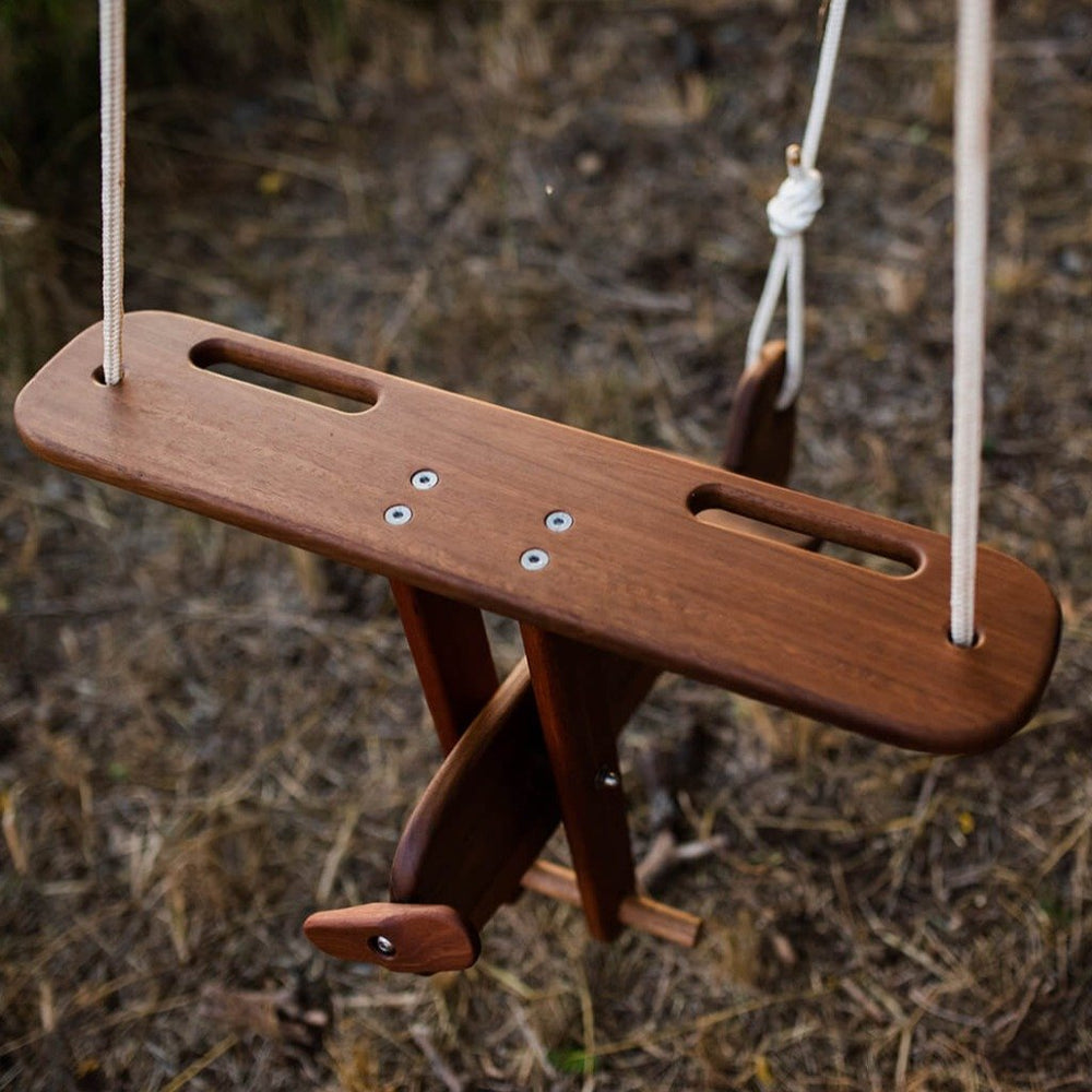 outdoor tree swing for toddler plane