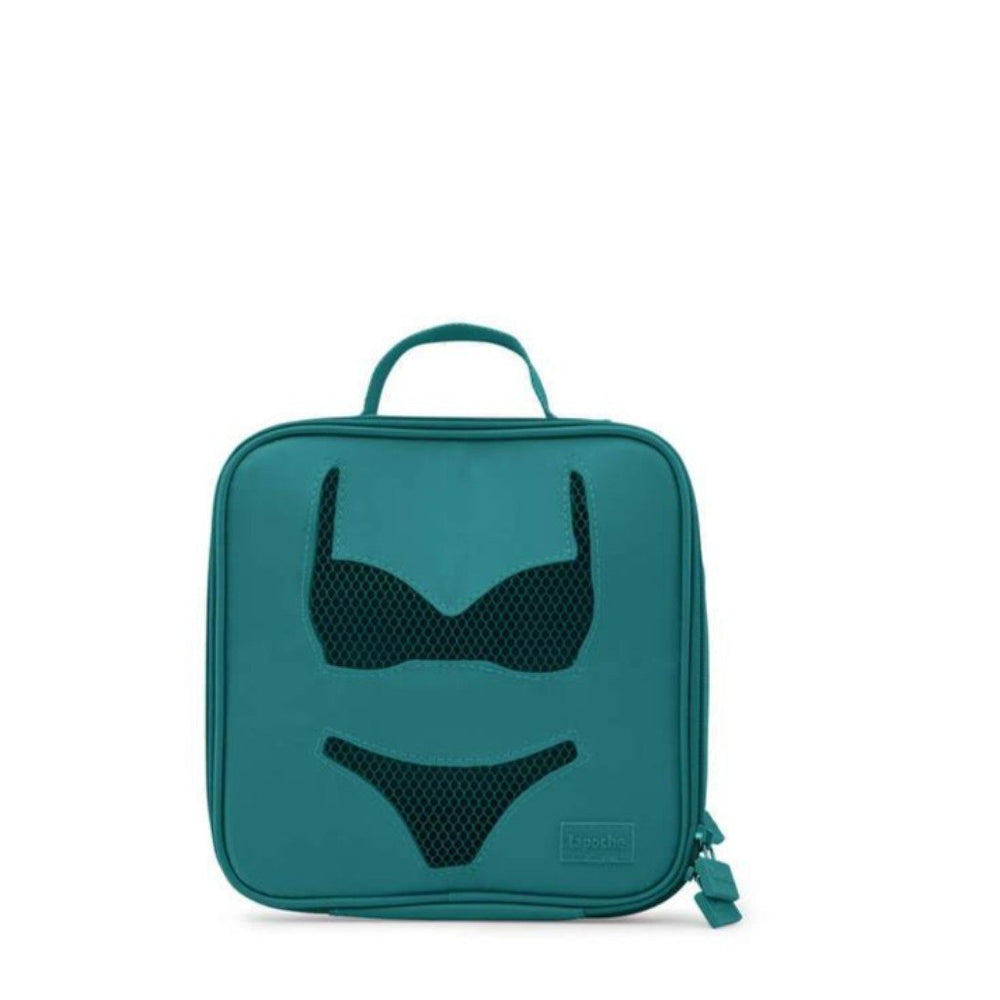 lingerie travel organiser  case teal