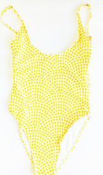 Matching Swimwear, Women's One Piece Swimsuit, Lemon Drops