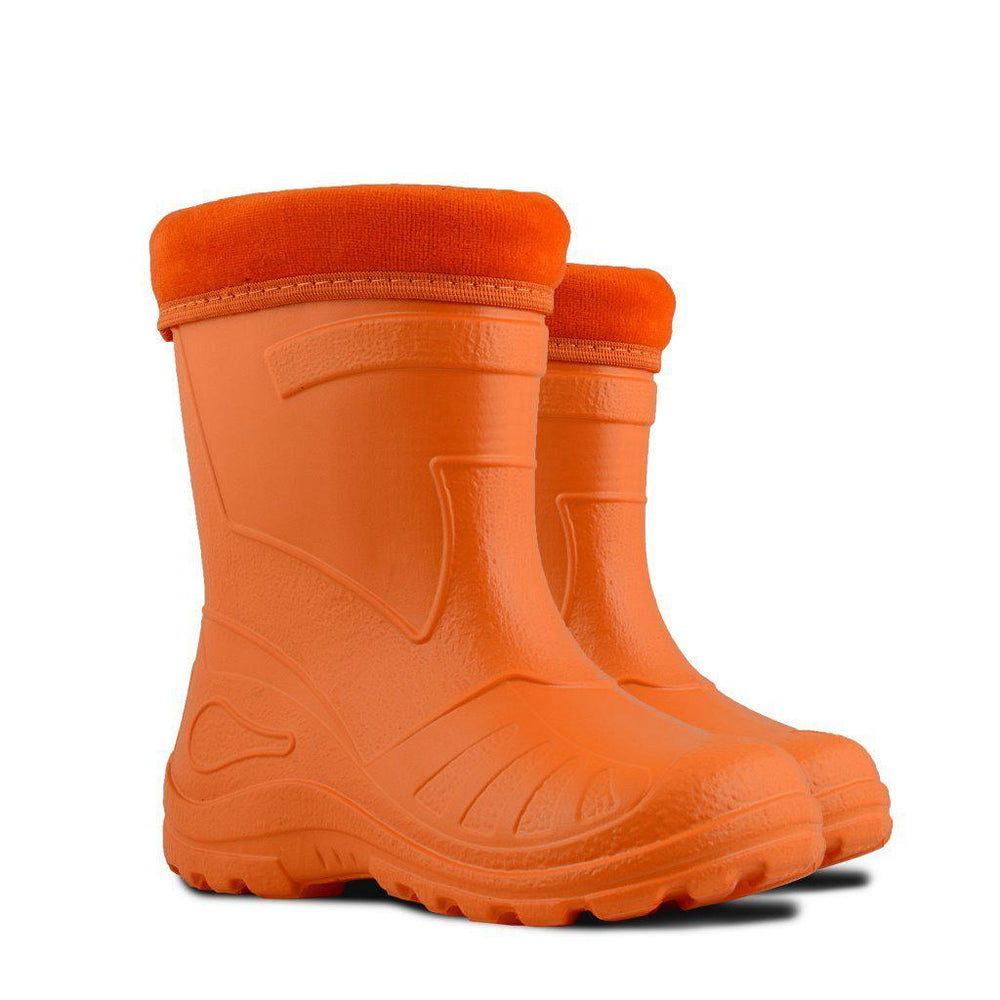 wellies for kids orange