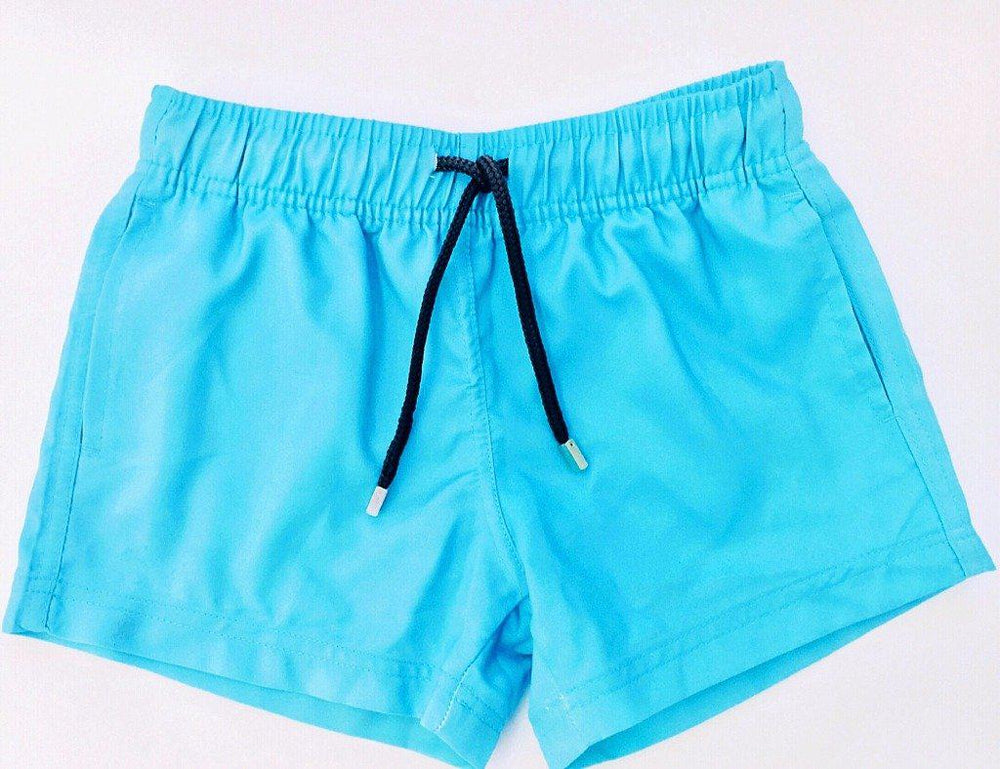mens swim shorts blue