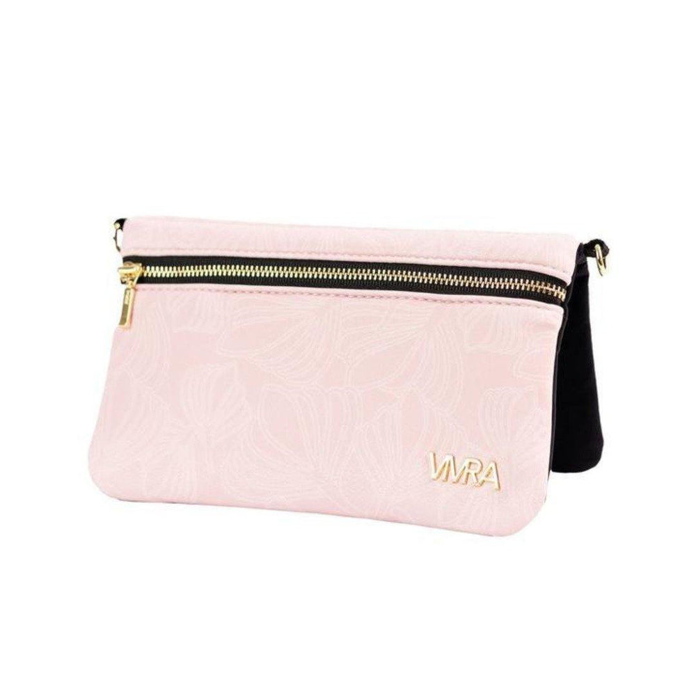 pink magnetic hip purse chic