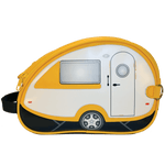 """Teardrop"" Camper Van Toiletry Bag, Yellow"