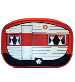 """Mini"" Camper Van Toiletry Bag, Red"