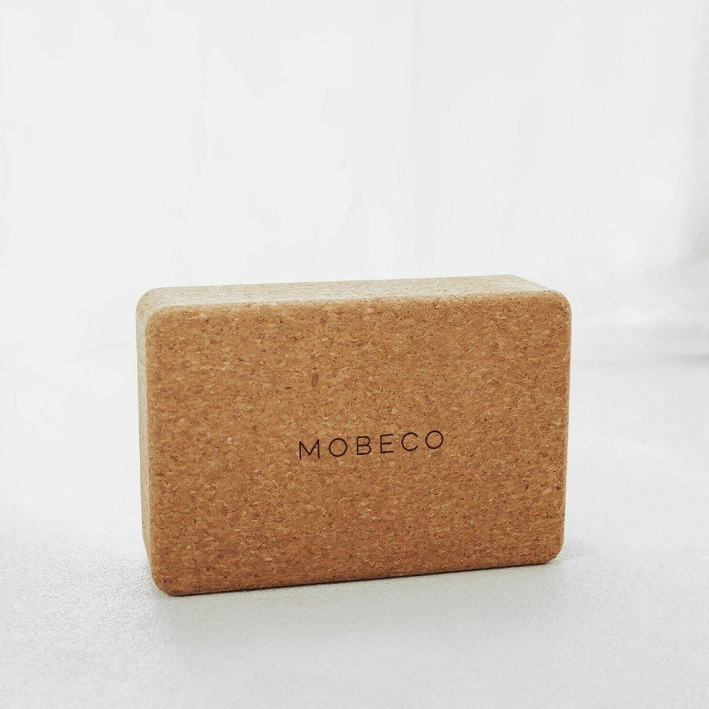 Cork Yoga Block, Exercise Brick, Mobeco