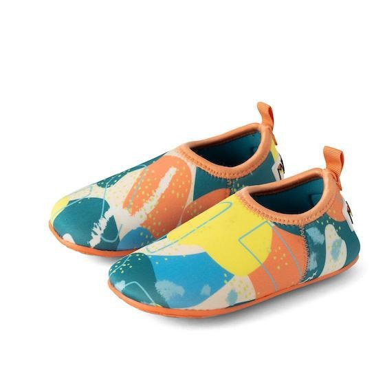 beach shoes for toddlers minnow design upper notch club light blue