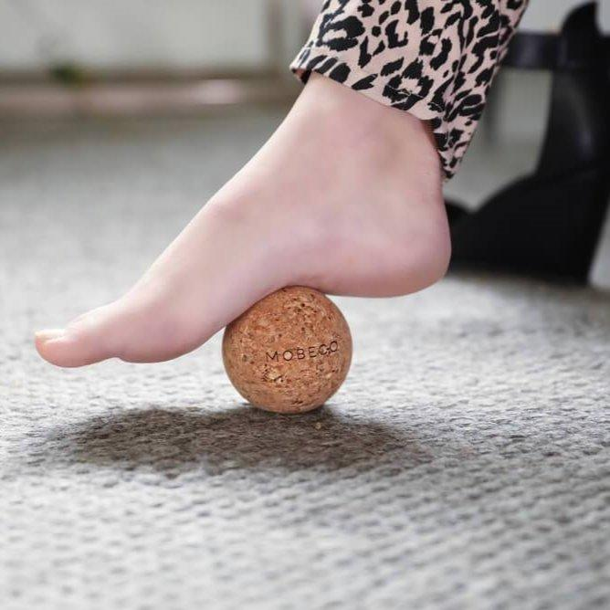 foot massage cork ball