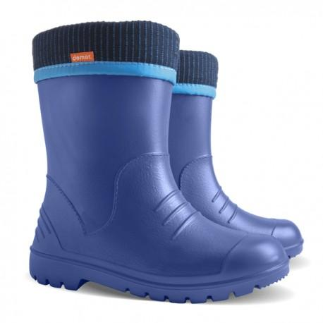 Demar Kids' Lightweight Gumboots, Dino, Blue