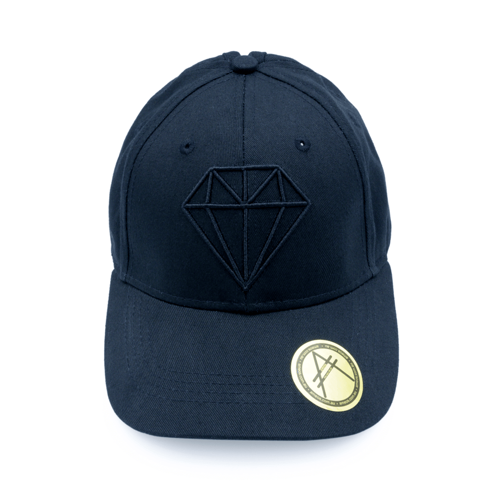 baseball cap black diamond ameos