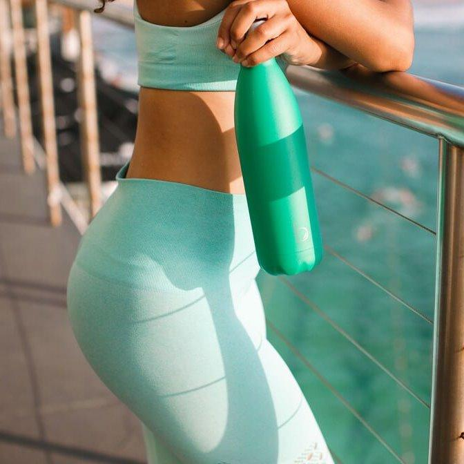 Stainless Steel Water Bottle, Emerald, Bondi Bottles