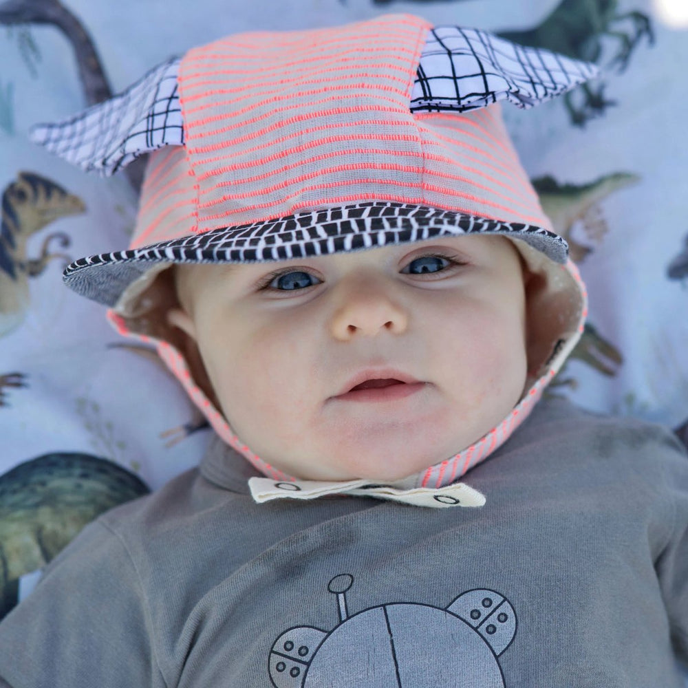 sun hats for babies pink animal ears