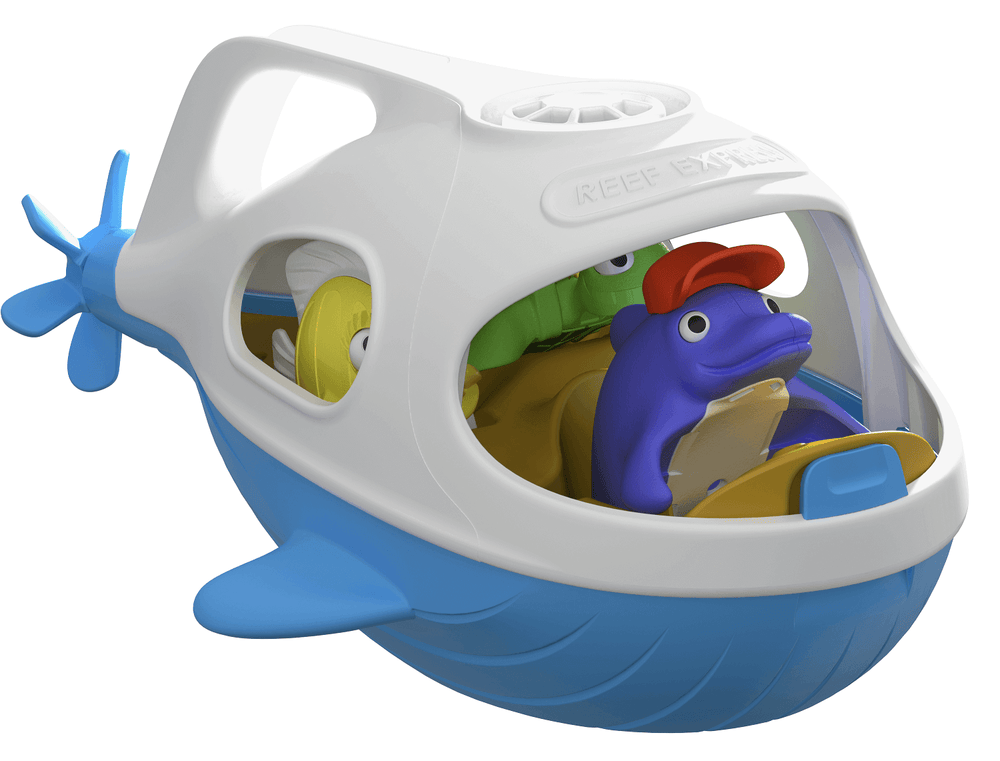 Bath Toys Set, Reef Express, Happy Planet Toys - Upper Notch Club