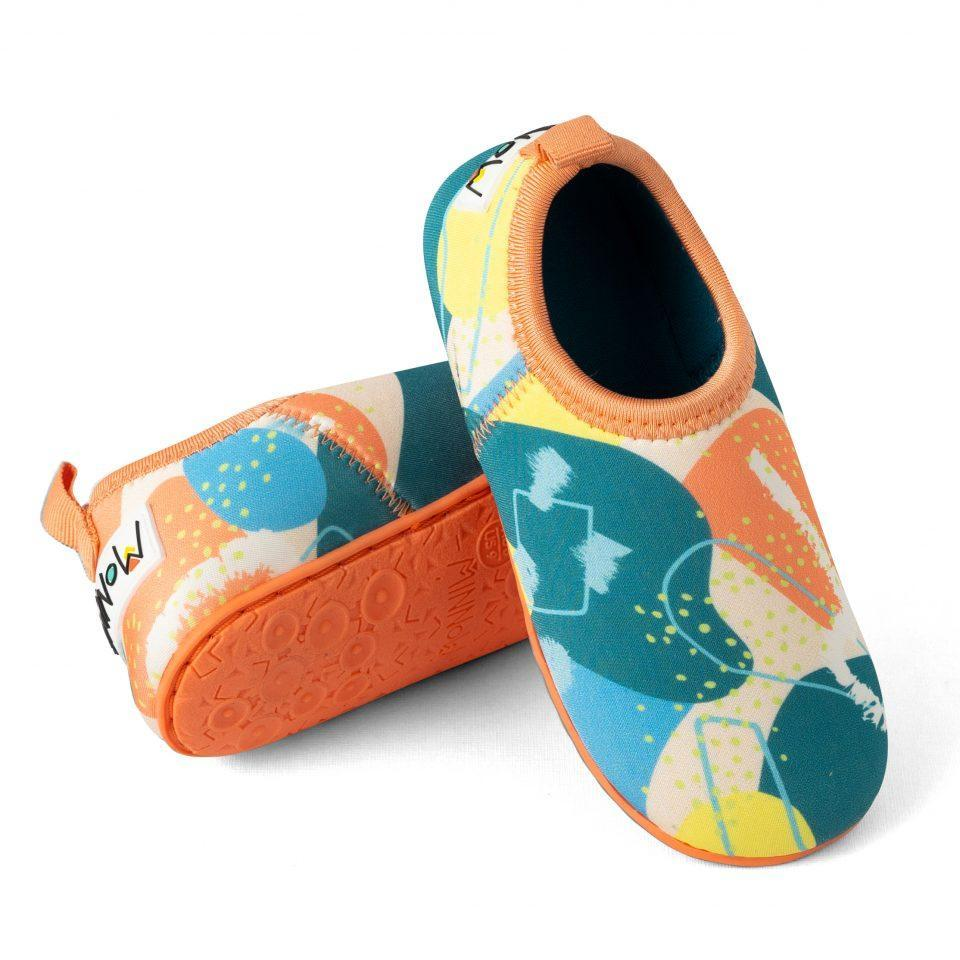 beach shoes for toddlers minnow design light blue